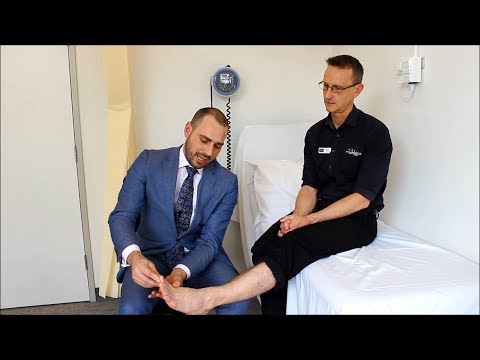 Persistent foot or ankle pain? Foot & ankle advice by Adelaide Orthopaedic Surgeon Dr Worsley