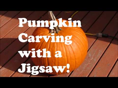 Pumpkin Carving with a Jigsaw!