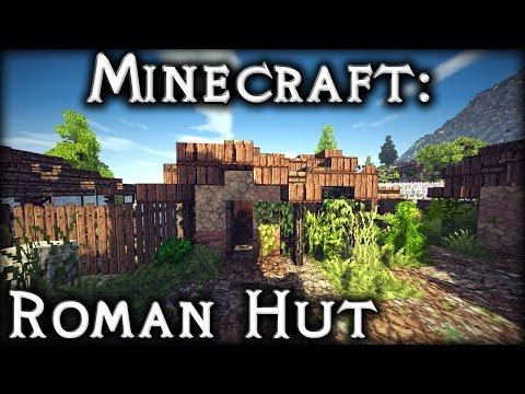 Minecraft: Roman Hut Tutorial 1