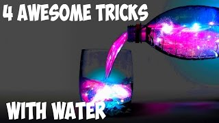4 AWESOME TRICKS WITH WATER