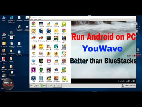 YouWave is Better than  Bluestacks, andy, etc... | YouWave Android Emulator 2018[Tamil]