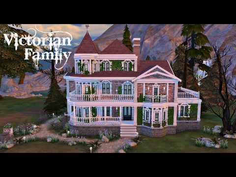 The Sims 4: Speed Build - Victorian Family Home