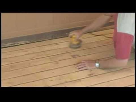 How to Stain a Deck : How to Stain a Deck: Sanding the Deck