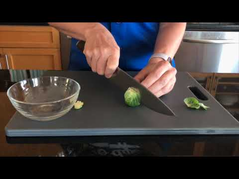 How To Clean and Trim Brussels Sprouts