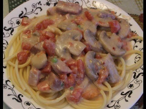 Ham Spaghetti Recipe
