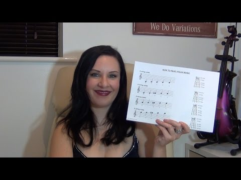 How to Read Violin Music - EASY