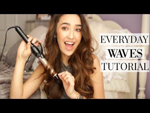 Everyday Loose Waves Hair Tutorial