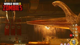 Ww2 Zombies - Finished Main Easter Egg Complete Gameplay! (call Of Duty Ww2 Zombies)