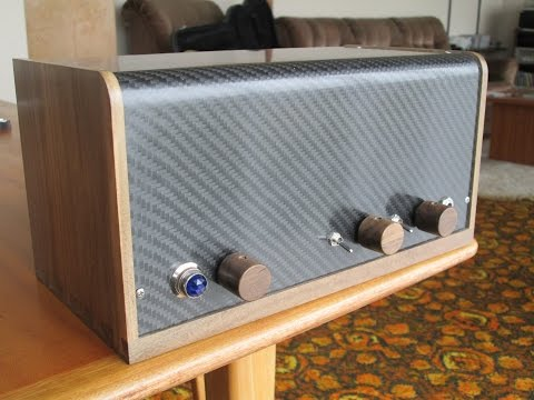 Small Tube Amp Build, Start To Finish