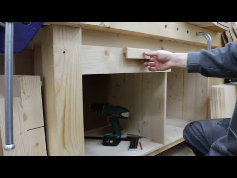 Workbench - Building drawers Part 3