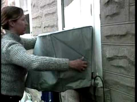 Air Conditioner Cover Installation