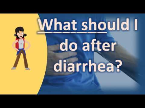 What should I do after diarrhea ? |Healthy Living FAQs