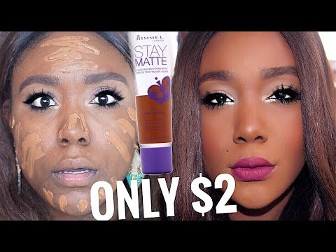 OILY SKIN FOUNDATION! Amazing Drugstore Matte Foundation For Oily Skin Full Coverage I Rose Kimberly
