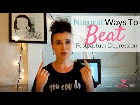 Natural Ways To Beat Postpartum Depression