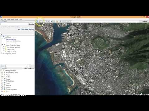 how to find lat long on google earth