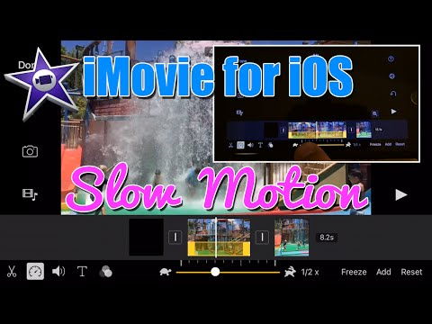 iMovie for iPhone Tutorial - Slow Motion Video How To