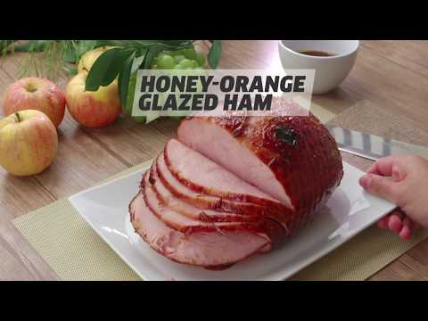 Honey-Orange Glazed Ham - How To Make Glazed Ham For The Holidays