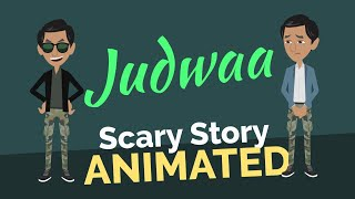 Judwaa  - The tale of two brothers | Scary Story Animated in Hindi
