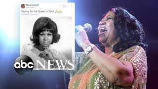 Outpouring of support for ailing Aretha Franklin