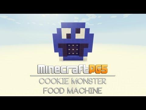 Food Machine - Cookie Monster Edition - Minecraft