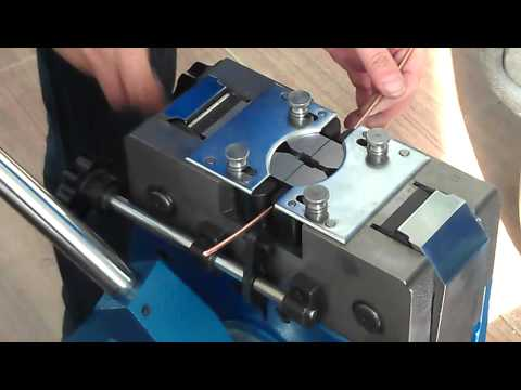 cold pressure welding machine to joining copper cables
