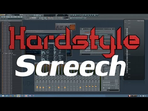 Hardstyle Tutorial: How to Make a Screech (FL Studio)