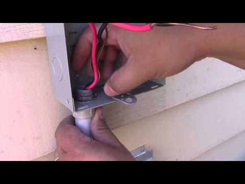 How to Change the Disconnect Box on a Central Air Conditioning Unit
