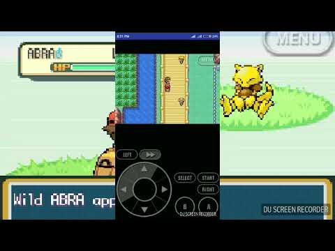 How to catch Abra in Pokemon leaf green by baby clashar