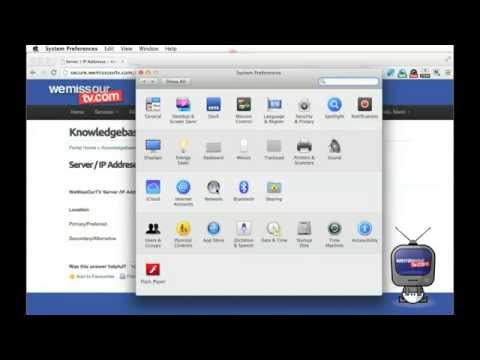 How To Setup DNS for Mac OSX