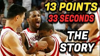 The Story Behind Tracy McGrady's 13 Points in 33 Seconds