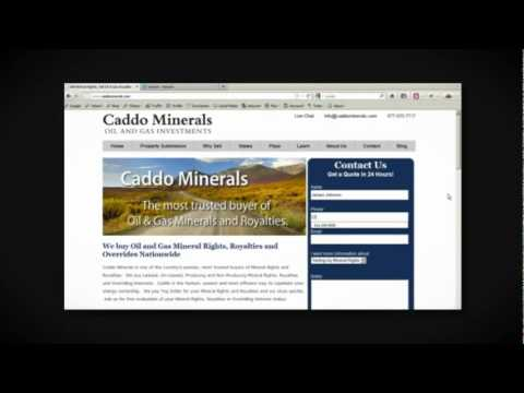 Sell Louisiana Oil and Gas Mineral Rights and Royalties - Caddo Minerals