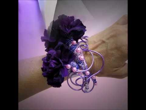 wire armature boutonniere youtube 001