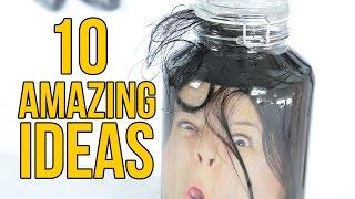 10 AMAZING ideas for Halloween
