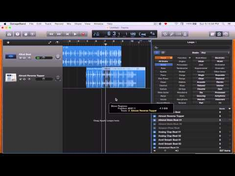 How to make an intro song using GarageBand