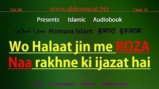 Shariat me Roza Na Rakhne Ki Ijazat Kab Hai | 128 Hamara Islam (8-11)