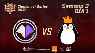 Challenger EU - Jornada 3 - MIL VS KGN - MAPA 2 - #ChallengerLVP