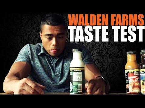 WALDEN FARMS - TASTE TEST
