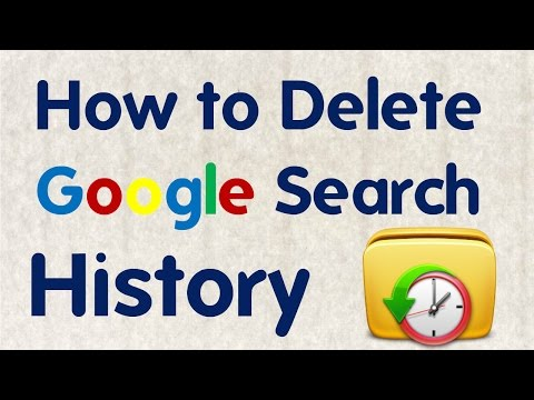 How to Delete Google Search History || Technical naresh