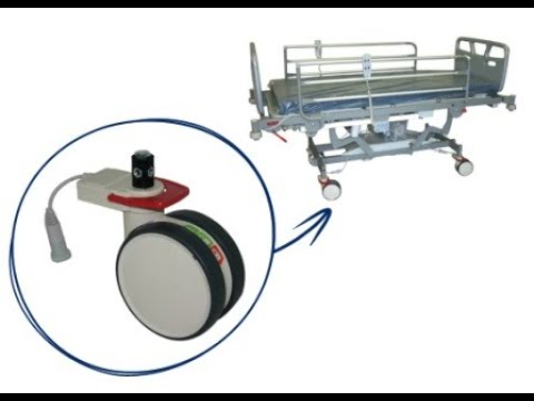 Electric Brake Castors (EBC) for Hospital Beds