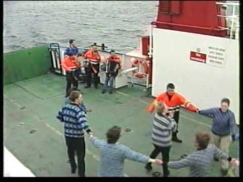 Ferry Reel in Shetland