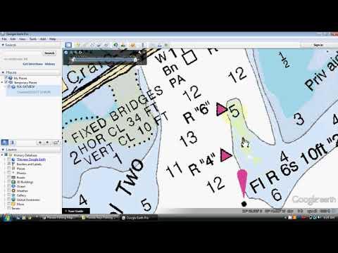 Florida Keys Fishing Spots for Key Largo, Islamorada, Marathon to Key West by GPS Fishing Maps