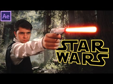 Tutorial: Star Wars Blaster (Shotgun) - Efeitos Adobe After Effects