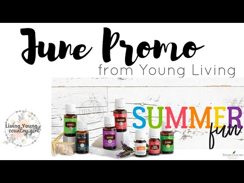 June Promos from Young Living
