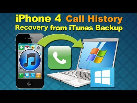 Retrieve deleted history: How to Recover Deleted Call Log or Lost Call History from iPhone 5/4S/4