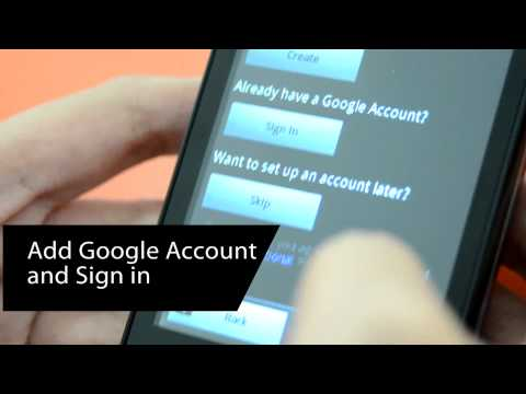 How to Set Up Google Play