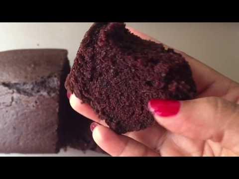 Eggless Dairyfree Chocolate Cake~Easy & foolproof Recipe