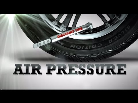 Tire Air Pressure: How to check, set and maintain it. - Discount Tire