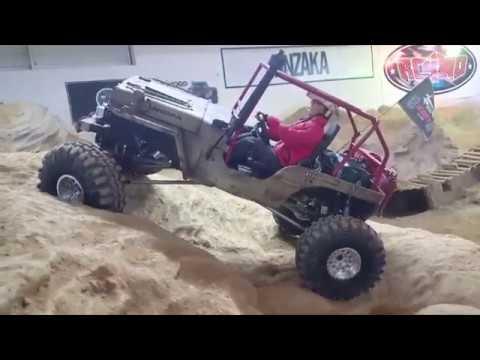 [ANZAKA] 1/6 WILLYS JEEP crawler (indoor track)