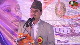 Manzar Bhopali at Jabalpur Mushaira, Jashne Rukhsar Balrampuri, 04/12/2015