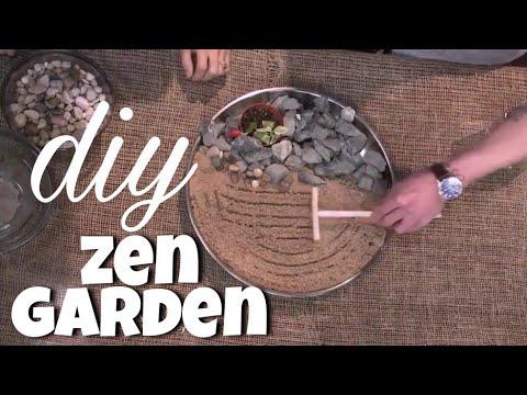 How To Make a Miniature Zen Garden l DIY l Stress Relieving Decor